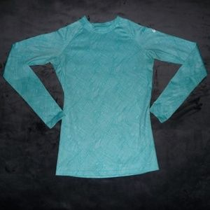 Nike Pro Combat Fitted Fleece Long Sleeve Top S